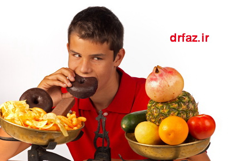 تغذیه نوجوانان